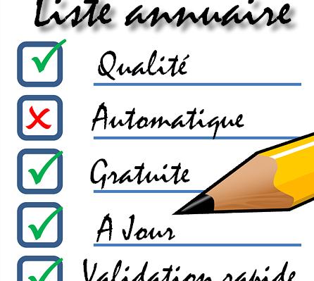 Liste annuaire de qualité
