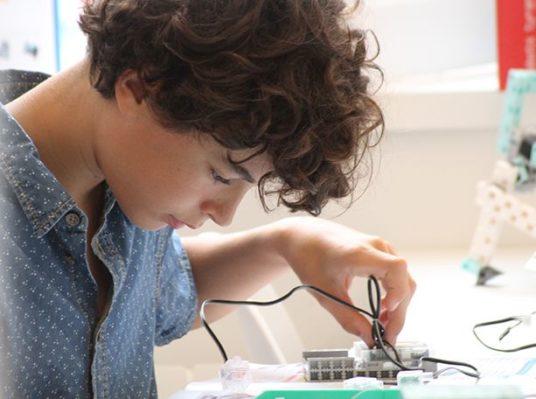 programmation robot au lycee